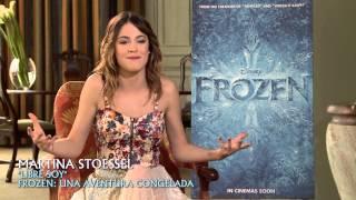 Frozen: Una Aventura Congelada Martina Stoessel