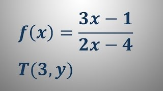 Enačba tangente v točki – naloga 3