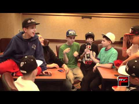 Fan Questions with ICONIc Boyz - Bacl at ABDC McDonalds n more