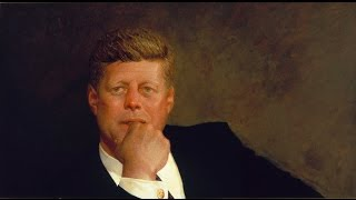 Jamie Wyeth Paints President John F. Kennedy