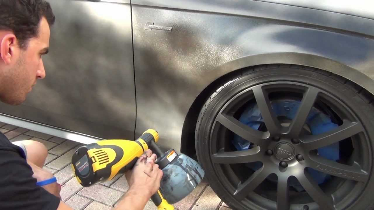 plastidip a whole car how to by youtube. Black Bedroom Furniture Sets. Home Design Ideas