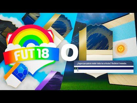 CONSIGO EL FUT DRAFT ARCOIRIS O DESCARTO UN ICONO!!!   FIFA 18