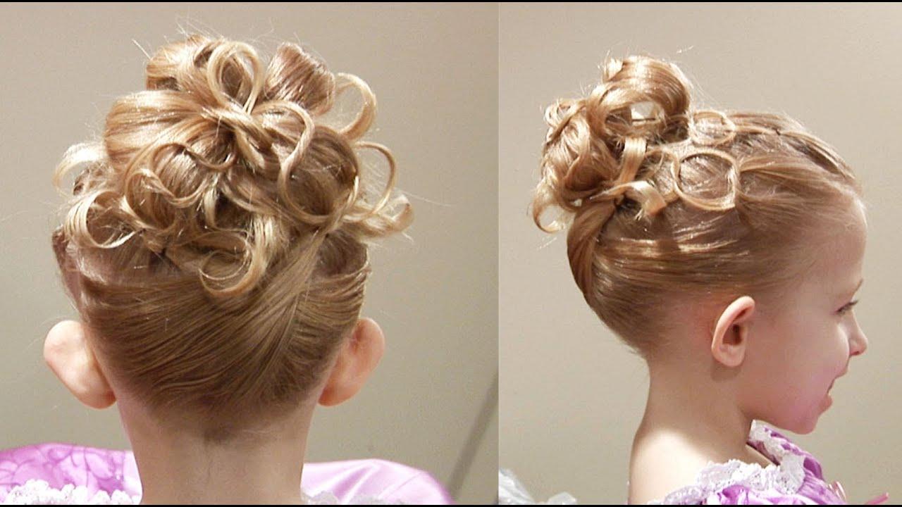 Cute Chain Updo // Princess Hairstyle // Cute Girls Hairstyles ...