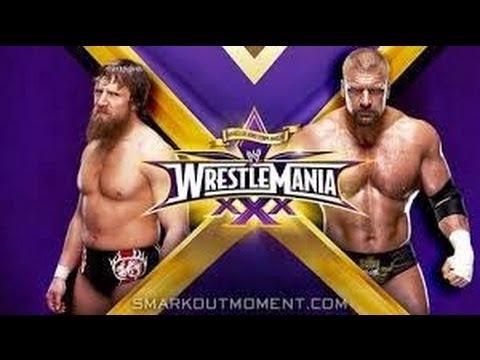 WWE WrestleMania 30/XXX Special #3-Daniel Bryan vs. Triple H (Must-See!)