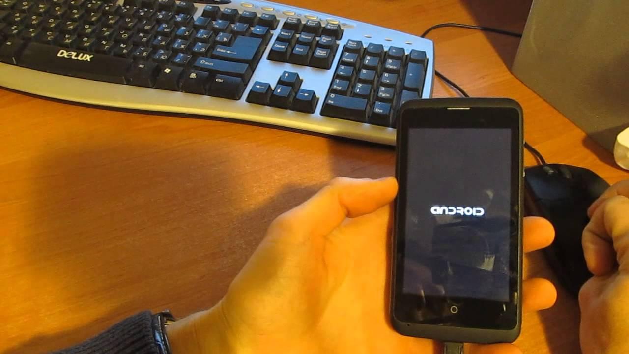 видео как прошивать андроид