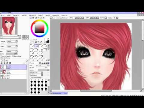 IMVU Tutorials - Drawing Female Hair, Maybe-Positioning@imvu.com Did this tut for friends-3 c: Just drawin' some perty pinky-purple hair. For females. Screenie by me Comment and critique? My devi...