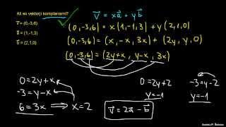 Komplanarni vektorji 1