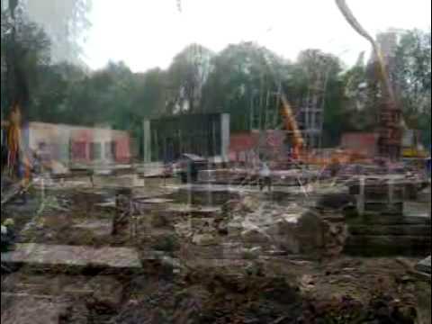 Budowa hali w Cieszynie