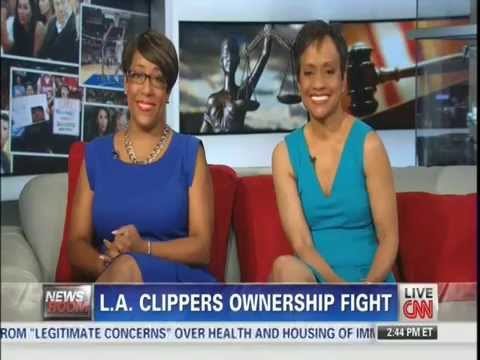 CNN Mo Ivory on Don Sterling Blocking Sale of LA Clippers 7/6/14