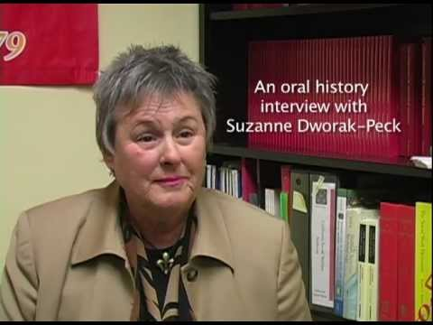 Dworak-Peck, Suzanne  - Oral History Interview - California Social Welfare Archives