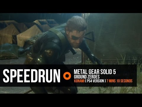 Metal Gear Solid 5: Ground Zeroes 7-minute speed run and S Rank