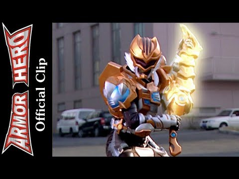 Armor Heroes Fight with the Butterfly Monster - Armor Hero Official English Clip  [HD 公式] -39