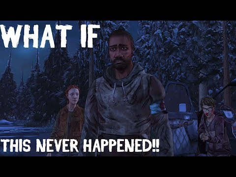THE WALKING DEAD GAME: SEASON 2 THEORY - WHAT IF THIS NEVER HAPPENED...