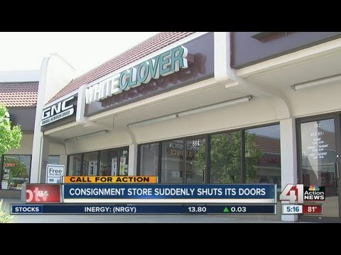 Consignment store closure leaves customers without clothes, money