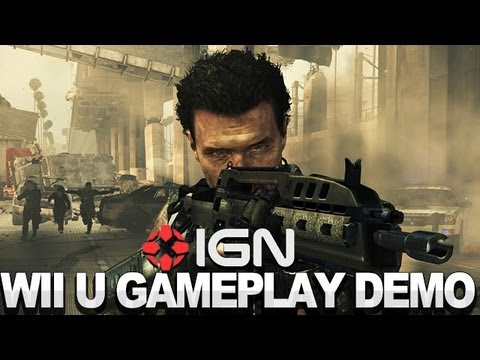 Wii U: Call of Duty: Black Ops 2 Multiplayer Demo - Nintendo NYC Conference 2012