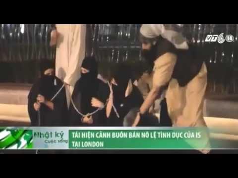 VTC14_Tái hiện cảnh buôn bán nô lệ tình dục của IS tại London