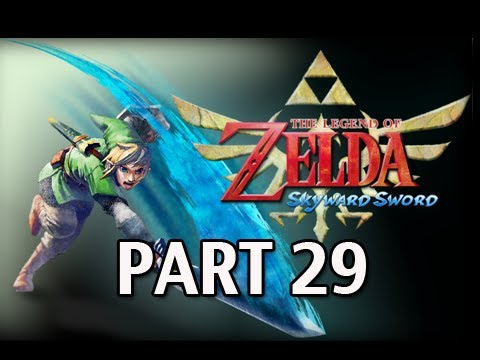Legend of Zelda Skyward Sword - Walkthrough Part 29 BOSS Moldarach Let's Play HD
