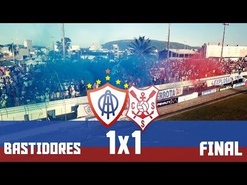 BASTIDORES: Itabaiana 1x1 Sergipe - 1ª Partida da Final