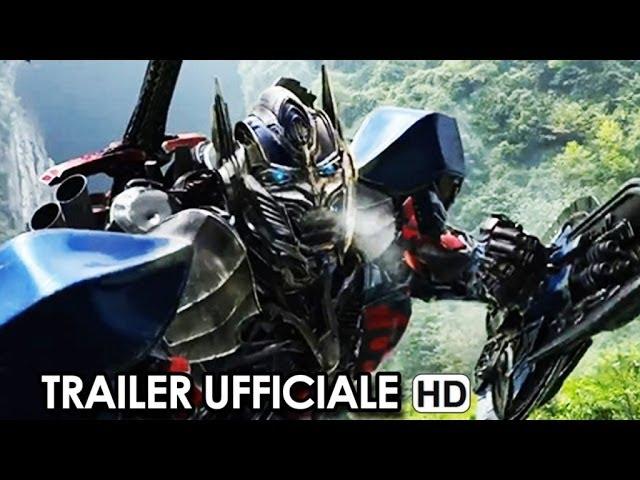 Transformers 4: L'era dell'estinzione Trailer Ufficiale Italiano (2014) Michael Bay Movie HD