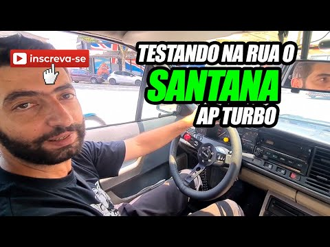 Andando com o Santana Na Rua - AP 2.0 Turbo Miolo Original INJEPRO S3000