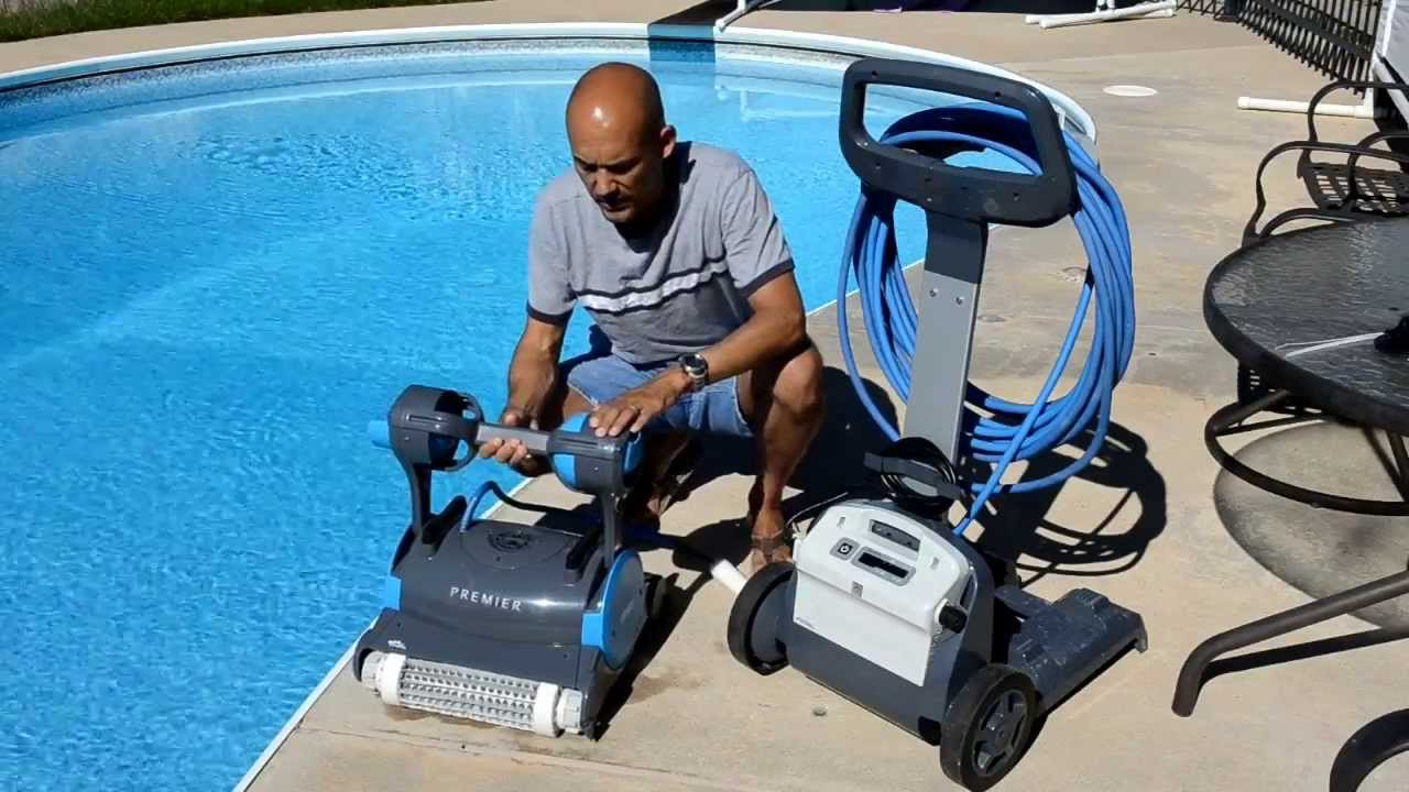 Dolphin premier review youtube for Pool cleaner reviews 2013
