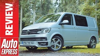 Volkswagen Transporter Kombi review - long term test with the AE film team. Auto Express.