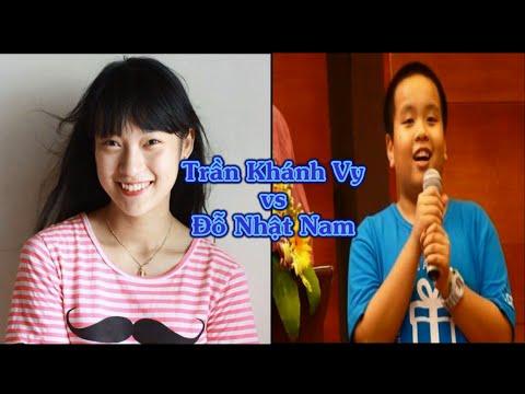 So sánh tài năng tiếng Anh thiên phú của Khánh Vy và Đỗ Nhật Nam