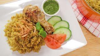 Chicken Biryani Recipe (Kao Mok Gai) ข้าวหมกไก่- Hot Thai Kitchen!