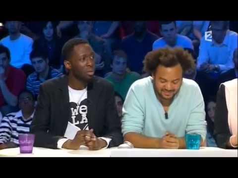 Thomas Ngijol et Fabrice Eboué - On n'est pas couché 19 avril 2008 #ONPC