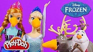 Video FROZEN Friends Collection Barbie Dolls Elsa Anna Sven Olaf