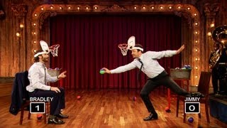 Faceketball with Bradley Cooper and Jimmy Fallon (Late Night with Jimmy Fallon)