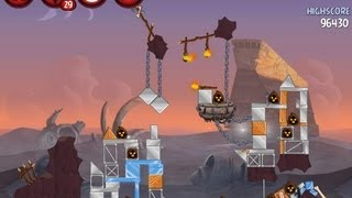 Angry Birds Star Wars 2 Level P2-16 Escape To Tatooine 3
