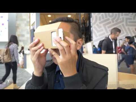 #cardboard at Google I/O 2014