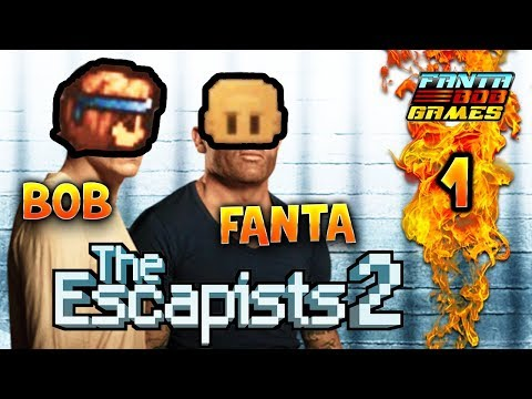 The Escapists 2 - Ep.1 - Let's Play COOP avec TheFantasio974 et Bob Lennon FR HD