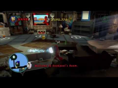 LEGO Marvel Super Heroes Free Roam-Part 1