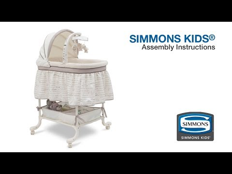 love n care bassinet assembly instructions