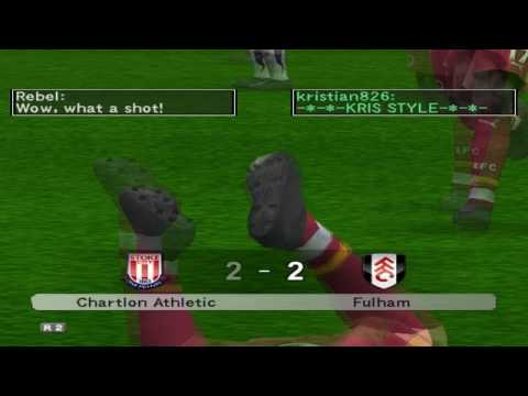PES 5 online kristian826 vs Rebel - goals 2