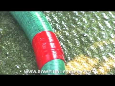 silicone self fusing repair tape er tape water resistant tape for garden hose repair youtube