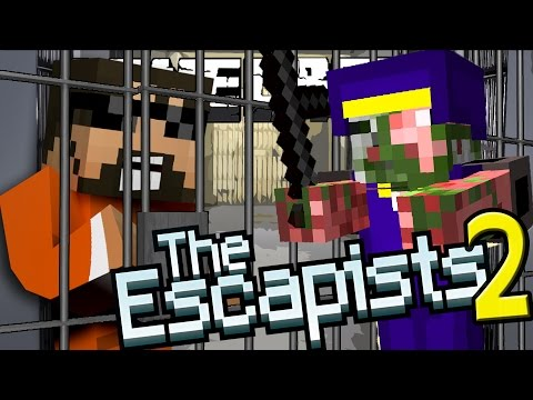 Minecraft: The Escapists 2 | STEALING EVERYTHING!!