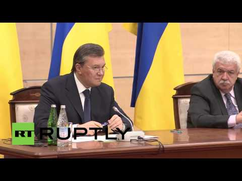 "Russia: ""I won't take part in illegal elections"" - Yanukovych"