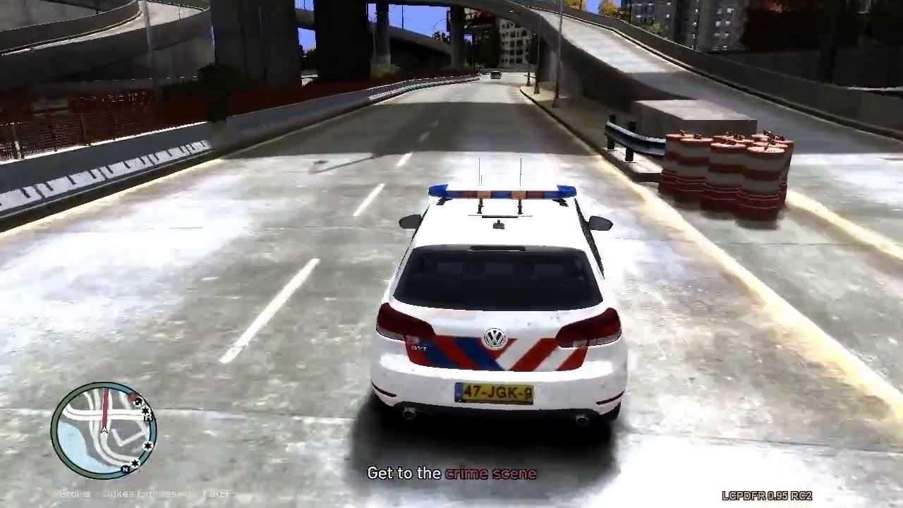 GTA: Politie MOD - YouTube