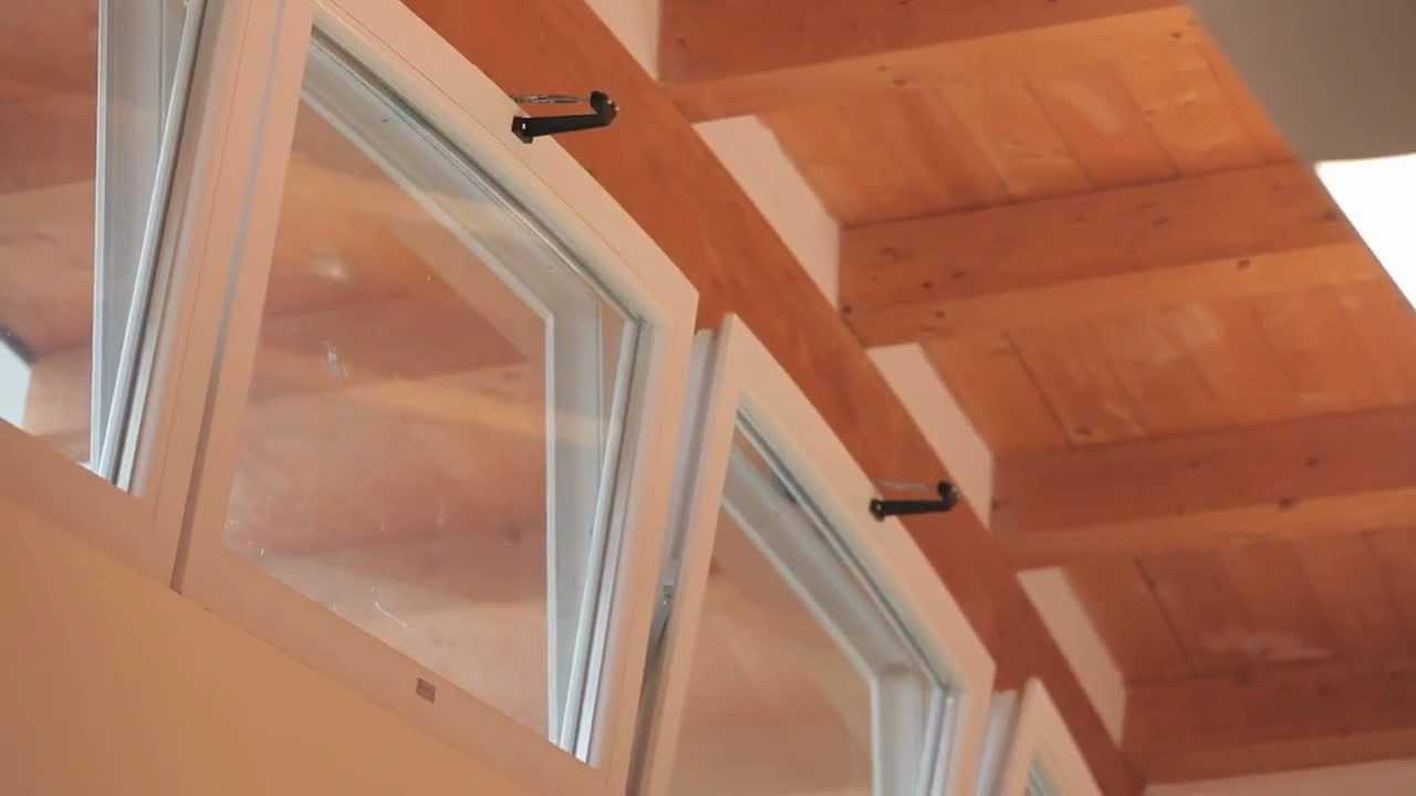 Finestre vasistas motorizzate in pvc youtube - Bloccare apertura finestre chrome ...