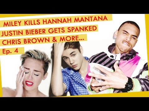 Miley Cyrus Kills Hannah Manta, Justin Bieber Gets Spanked, Chris Brown and More...