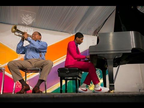 The Genius of  Jazz   Wynton Marsalis   Jon Baptiste