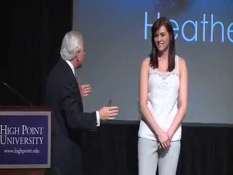 Heather Richardson at High Point University