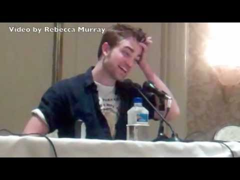Robert Pattinson Breaking Dawn Interview Part 2