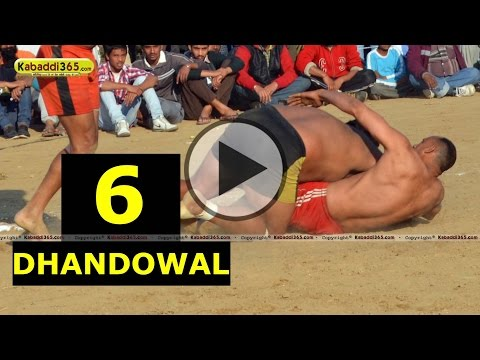 Dhandowal (Nakodar) Kabaddi Tournament 13 Feb 2014 Part 6 By Kabaddi365.com