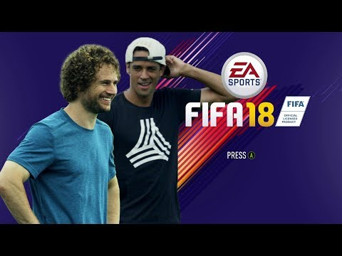 EA SPORTS FIFA 18 Real-Life Skill Games | Ep.8 Calen Carr v Stephen Keel