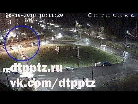 Госавтоинспекция Петрозаводска просит помощи в установлении личности водителя, сбившего пешехода