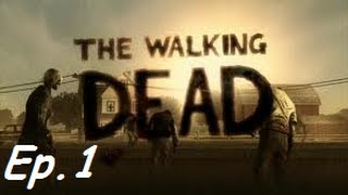 The Walking Dead Episode 1- A New Day (FULL)